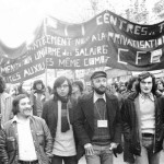 Octobre 1974 - la section CDFT-PTT de Lyon gare
