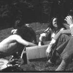 de gauche à droite : Mimmo, Georges (?) Maryvonne et Jean-Jacques