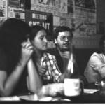 de gauche à droite : Joël, Gemma, Jean-Marc et Eric