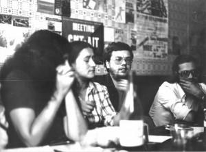 Joël Fieux (?), Gemma, Jean-Marc et Eric