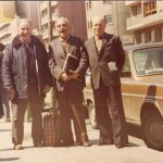 A gauche,  Juan de la Flor Burgos (Barcelone en 1980)