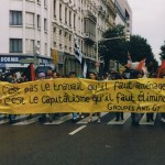 manifestation anti G7 en juin 1996
