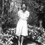 ma mère, Carmen Perez, jeune