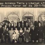 groupe artistique Tierra y Libertad en 1950